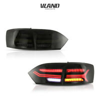 LED Tail Lights For Volkswagen Jetta 2011-2014 Smoked Rear Light Assembly