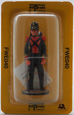 Figurine Collection Del Prado Soldat Armée Mexicaine Grande Aventure de l'Ouest