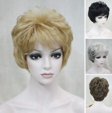 Elegant Short Curly Women Ladies Everyday Natural Daily Life hair Wig #EF53