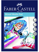 #791419 Faber Castell A4 Sketch Pad Creative Studio Mixed Media 250gsm 30 Sheets