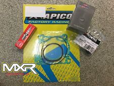 KTM SX 125 2002-2015 TOP END REBUILD KIT WITH VERTEX PISTON SIZE C AND MORE