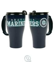 MLB Baseball Seattle Mariners 16 Ounce Roadster Plastic Tumbler Travel Mug Cup