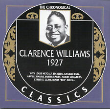 Clarence Williams 1927 Chronological Classics New Sealed CD  Read Description!