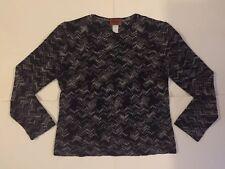 Missoni Women's Zig Zag Sweater Size S - Black/White