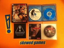Metal Gear Solid 4 Limited Edition - Guns of the Patriots - PS3 PlayStation 3