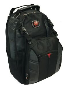 "SwissGear 15.6"" Sherpa Laptop Backpack - Black/Grey"