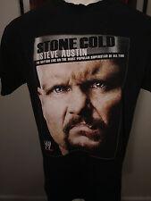 STONE COLD STEVE AUSTIN MOST POPULAR SUPERSTAR WWE T SHIRT BLACK Large