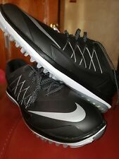New Nike Lunar Control Vapor Spikeless 2 Golf Shoes 849971-001 Black Mens 9.5
