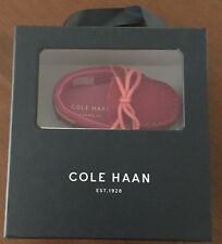NIB Cole Haan Grant Driver Pink Suede Moccasin Infant Loafers Size 2 MSRP$49.95