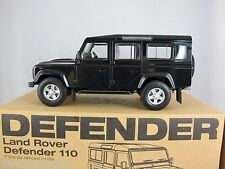 1:18 Land Rover Defender D110 One Ten Century Dragon Black RHD+Free Chassis Set