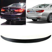 Fit For BMW 7-Series G11 G12 Trunk Boot Spoiler ABS 740i 750Li Unpainted