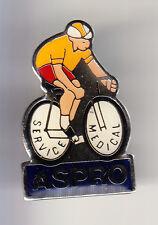 RARE PINS PIN'S .. VELO CYCLISME CYCLING TOUR DE FRANCE ASPRO MEDICAL JAUNE ~BY
