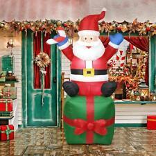 5.9ft Inflatable Santa Claus Outdoors Christmas Decor Yard Arch Xmas Ornament