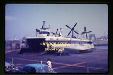 c.1970 Seaspeed Hovercraft Ferry Princess Margaret in England, Orig. Slide d4a