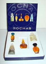 ROCHAS Sampler Coffret of 5 Perfumes c. 1990's