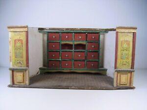 Antiker Seltener Kaufmannsladen Jugendstil Zigarettenwerbung um 1900
