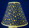Stars on Blue Americana Patriotic Lampshade Handmade Lamp Shade
