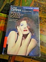 Ute Lemper - Selections From Berlin Cabaret Songs - Cassette