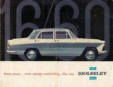 Wolseley 16/60 1961-66 UK Market Sales Brochure Farina
