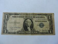 1935 USA SILVER CERTIFICATE ONE DOLLAR STAR NOTE