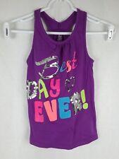 Est. 1989 Place Girl's sz M 7/8 Purple Cotton Sleeveless Scoop Neck Tank Top