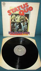 STATUS QUO Piledriver ORIGINAL 1st UK VERTIGO 1972  Swirl / Spiral
