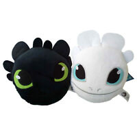 """Toothless & Light Fury Plush Hand Pocket 6"""" Toy How to Train Your Dragon 3"""