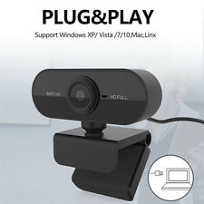 New listing 1080P 2Mp Hd Webcam Camera Usb Microphone Web Cam Video Call For Laptop Computer