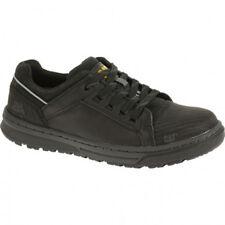 Caterpillar CAT P90600 Mens Concave Lo Black Steel Toe Slip Resistant Work Shoe