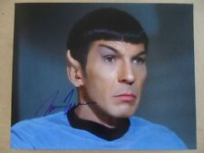 "Leonard Nimoy Signed ~Autographed Photo ""Darkness"""