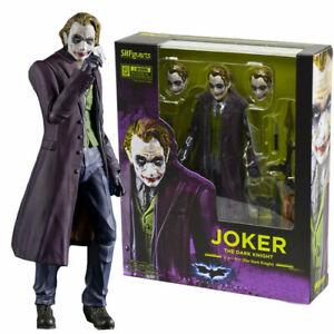 S.H.Figuarts Joker Batman The Dark Knight SHF Statue Model Action Figures KO Toy