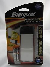 New Sealed, Energizer Fusion Compact LED 2 in 1 Handheld Flash Light