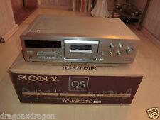 Sony tc-kb920s high-end casetes tape cubierta, en OVP, 2 años de garantía