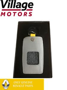 NEW Genuine Renault Megane Koleos | Card Key Holder Leather Grey | BKCCL001AU