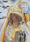 Pierre Bonnard Original Lithograph Jeune Fille Baroque Verve Mourlot 1ST ED 1939