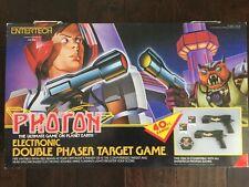 Vintage LJN Entertech Photon Electronic Double Phaser Target Game E-7500 1986