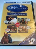 Disney Pixar Ratatouille Cooking Fun For All Ages DVD (NEW, sealed)
