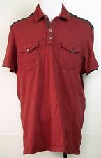 New INC International Concepts Men/'s Tumbleweed Poplin Shirt Sweet Cinnamon $65