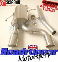 Scorpion Clio 182 Exhaust Cat Back Stainless Steel System Non Resonated Daytona