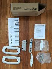 Andersen Patio Door Hardware Tribeca trim set ps/fwg 2 panel white 2565694 NEW!