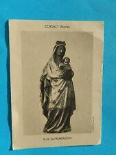 IMAGE PIEUSE  NOTRE DAME DE FAUBOULOIN CORANCY NIEVRE CANTIQUE 1912 THFR