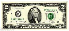Etats UNIS AMERIQUE USA Billet 2 $ Dollars 1976 B BC NEW YORK UNC  NEUF