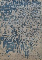 Abstract Modern Super Kazak Oriental Area Rug Vegetable Dye Hand-Knotted 6x8 New