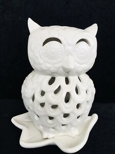 OWL TEA LIGHT HOLDER LARGE