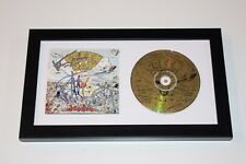 GREEN DAY BAND SIGNED FRAMED DOOKIE CD COVER W/COA X3 BILLY JOE TRE COOL MIKE