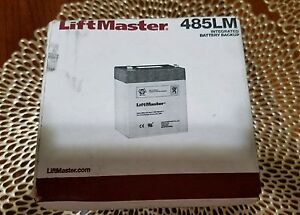 LiftMaster Garage Door Opener Battery Backup 485LM