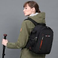 K&F Concept Camera Backpack Bag for Canon Nikon Sony Shockproof Free Rain Cover