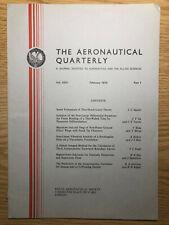 The Aeronautical Quarterly (Royal Aeronautical Society Journal) RARE Feb 1974