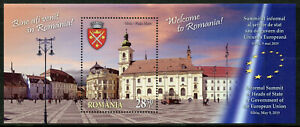 Romania 2019 MNH Welcome Sibiu 1v M/S Architecture Tourism Landscapes Stamps