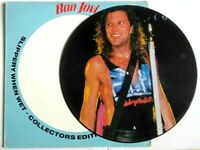 EX/EX BON JOVI SLIPPERY WHEN WET VINYL LP PICTURE PIC DISC
